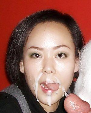 Asian cum shots — photo 9