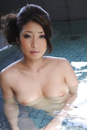 Asian in Pool Pics